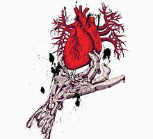 Hearth in Hand, Red and Naked hearth Unisex T-Shirt