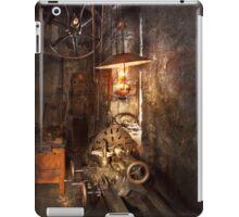 Machinist - Lathe - The corner of an old workshop iPad Case/Skin