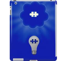 Light bulb iPad Case/Skin