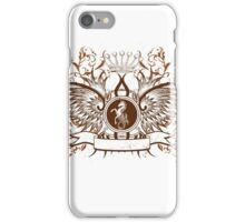 Beautiful and Cool Design vintage Horse and Crown iPhone Case/Skin
