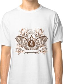 Beautiful and Cool Design vintage Horse and Crown Classic T-Shirt