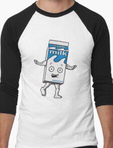 Milky Blur Men's Baseball ¾ T-Shirt