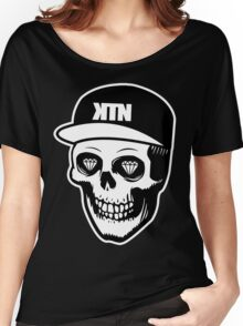 Kill The Noise - Skull logo Women's Relaxed Fit T-Shirt