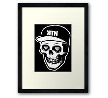 Kill The Noise - Skull logo Framed Print