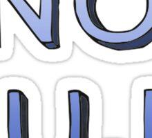 No F.U.N. Sticker