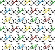 Road Bike Pattern by CongressTart