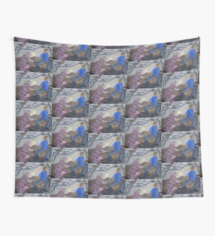 Running away Wall Tapestry