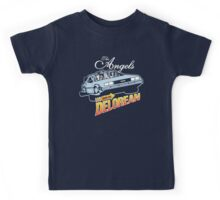 The Angels Have the Delorean Kids Tee