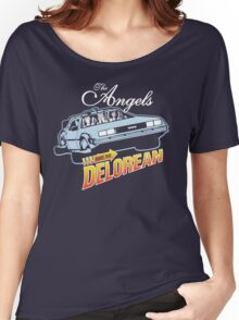 The Angels Have the Delorean Women's Relaxed Fit T-Shirt