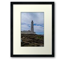 Whitley Bay St Mary's Lighthouse Framed Print
