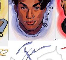 3t fans Sticker