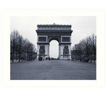 Arc de Triomphe - in 1945 Art Print
