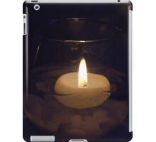 Candle in the dark iPad Case/Skin