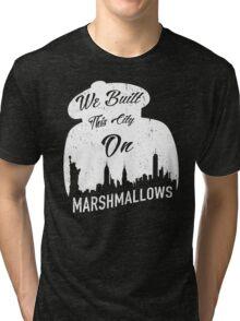 Marshmallow City  Tri-blend T-Shirt