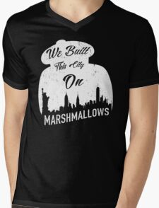 Marshmallow City  Mens V-Neck T-Shirt