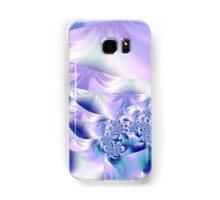 Lilac swirls Samsung Galaxy Case/Skin