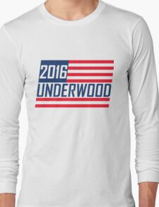 Frank Underwood 2016 - House Of Cards Long Sleeve T-Shirt