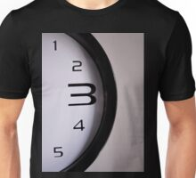 Clock numbers 1 2 3 4 5 Unisex T-Shirt