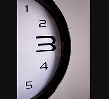 Clock numbers 1 2 3 4 5 Unisex T-Shirt