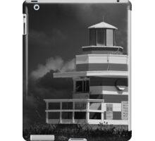 Lifeguard Station, Miami Beach iPad Case/Skin