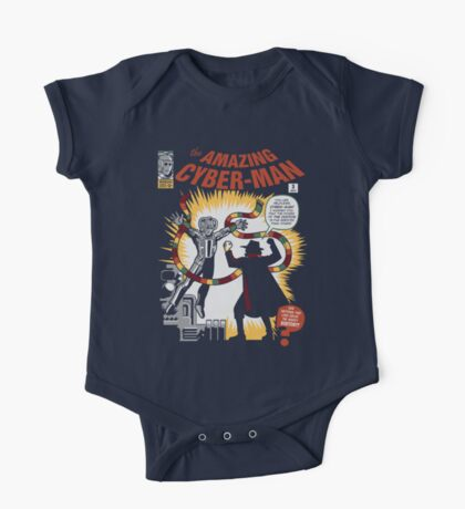 The Amazing Cyber-Man! One Piece - Short Sleeve