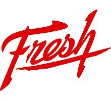 Fresh - Red Photographic Print