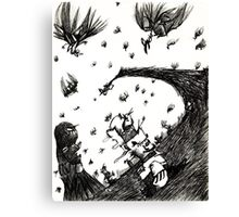 Vultures are Circling Canvas Print