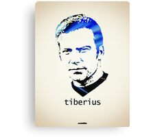Icons - Captain Kirk Canvas Print