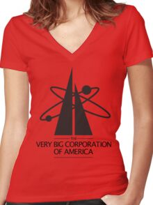 The Very Big Corporation Of America Women's Fitted V-Neck T-Shirt