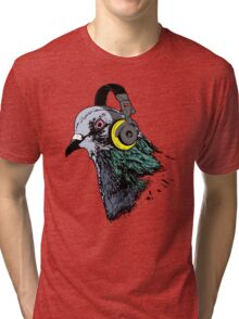 Techno Pigeon v2 Tri-blend T-Shirt
