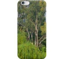 Gums amongst the willows iPhone Case/Skin