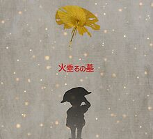 Ghibli Minimalist 'Grave of the Fireflies' by doodlewhale