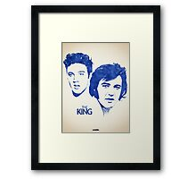 Icons - Elvis Presley Framed Print