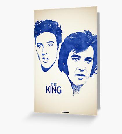 Icons - Elvis Presley Greeting Card