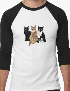 Fellini, Lola and Minou Men's Baseball ¾ T-Shirt
