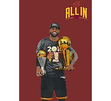 Lebron James Photographic Print
