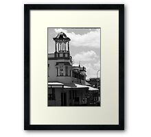 Pub on the corner  Framed Print
