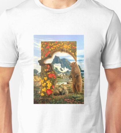 Bearly where Bearly there Unisex T-Shirt