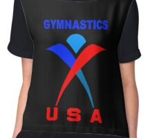 Team USA Gymnastic Olympics Chiffon Top