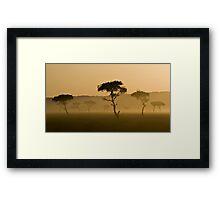 Masai Mara #3 Framed Print