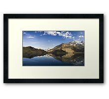Alpen Reflection Framed Print