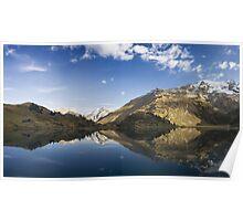 Alpen Reflection Poster