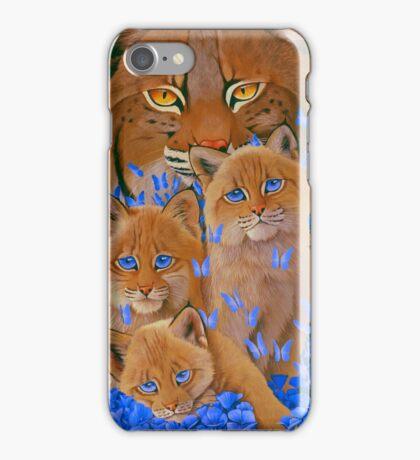 Bob  Cat Kittens iPhone Case/Skin