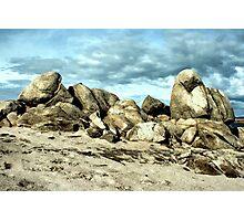Lake Folsom Boulders Photographic Print