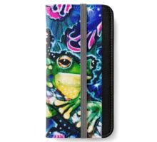 two frogs iPhone Wallet/Case/Skin