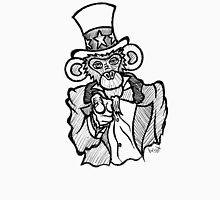 Uncle Sam Monkey 2 Unisex T-Shirt