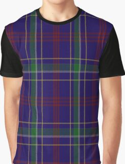 02060 Warren Wilson College Tartan Graphic T-Shirt