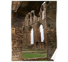 Elgin Arches and Window Poster