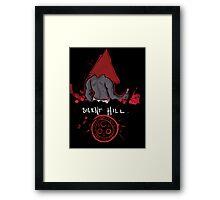 Silent Hill PyramidHead Framed Print