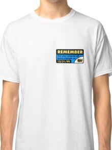 Best Buy Y2K Reminder Classic T-Shirt